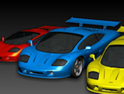 3D Racing icon